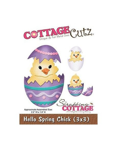 CottageCutz - Hello Spring Chick